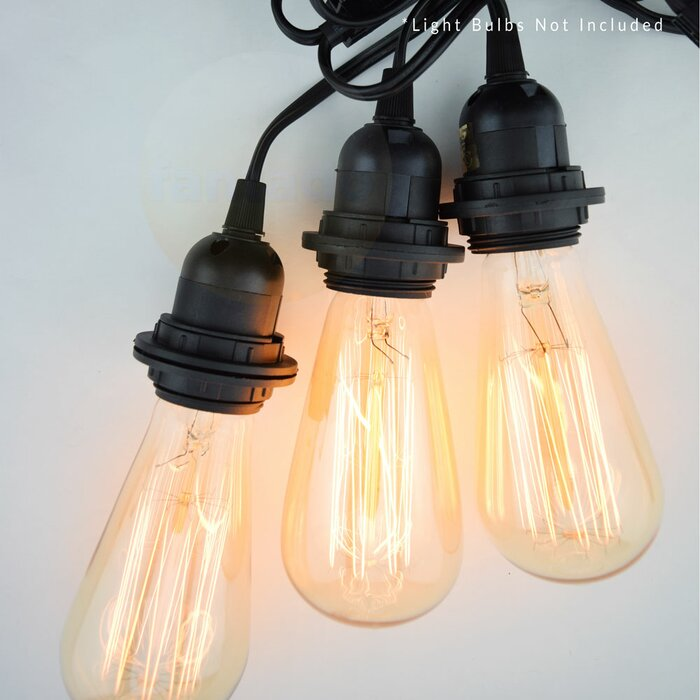 edison and cords ceiling vintage with products pendant cord adjustable light shack round drop bacf bulbs fat