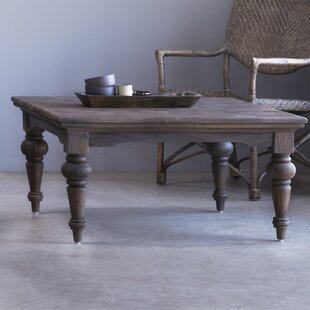 Elnath Solid Teak Coffee Table by Charlton Home