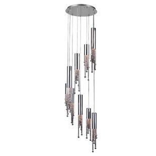 Orren Ellis Mobley 9-Light Cluster Pendant