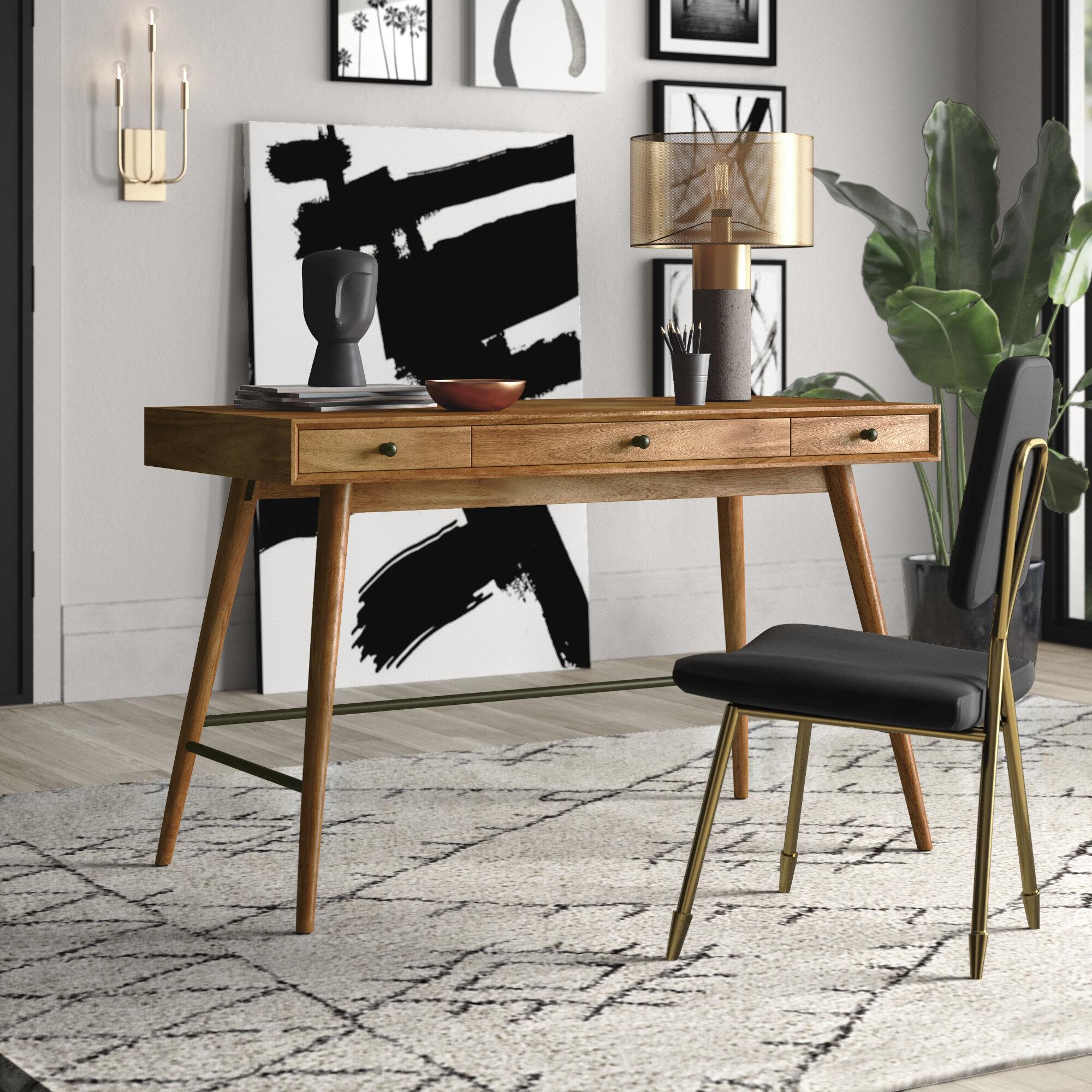 Image of: Mercury Row Andersen Desk Reviews Wayfair