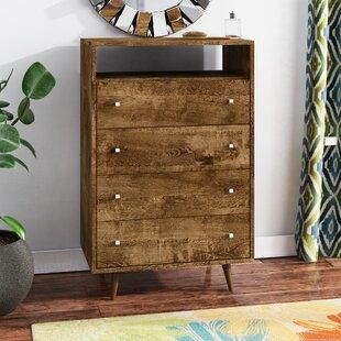 Jabari 4 Drawer Dresser