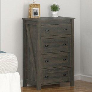 Cleveland 4 Drawer Dresser by Gracie Oaks