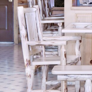 Abordale Slat Back Solid Wood Dining Chai..