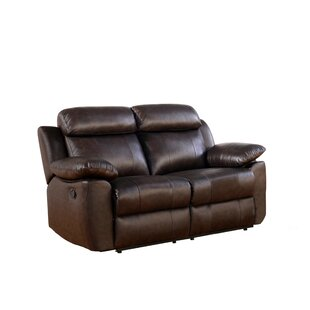 Bima Leather Reclining Loveseat