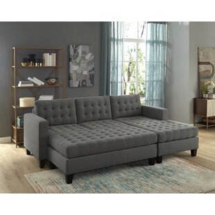 Mentone Reversible Sectional with Ottoman