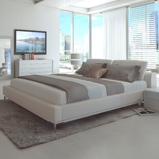 UrbanMod Contemporary Upholstered Platform Bed