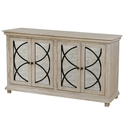 Millbank Four Door Mirror Front Sideboard by Alcott Hill