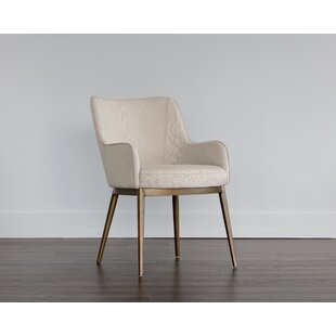 Irongate Upholstered Dining Chair Sunpan Modern