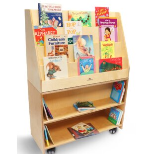 Compare prices Mobile Deluxe Library 49.75 Book Display by Whitney Brothers Reviews (2019) & Buyer's Guide
