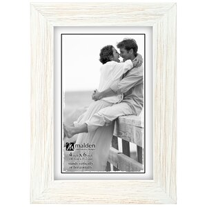 Kornegay White Wash Linear Picture Frame