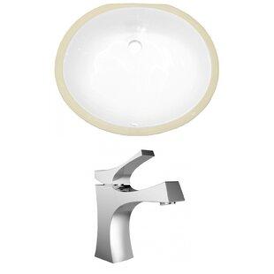 American Imaginations CUPC Ceramic Oval U..