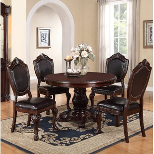 Sandifer 5 Piece Dining Set by Astoria Grand New