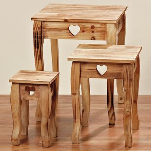 Farmhouse 3 Piece Nesting Tables by Whole House Worlds
