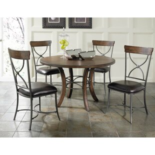 Royalton 5 Piece Solid Wood Dining Set Red Barrel Studio