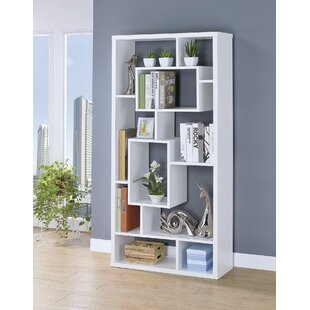 Kahleel Geometric Bookcase by Latitude Run No Copoun
