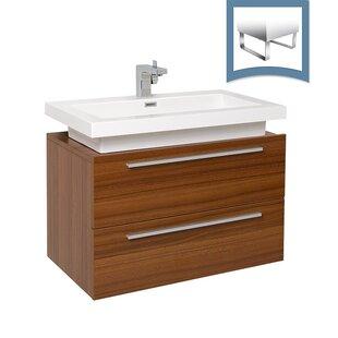 Compare prices Medio 31 Single Bathroom Vanity Set ByFresca
