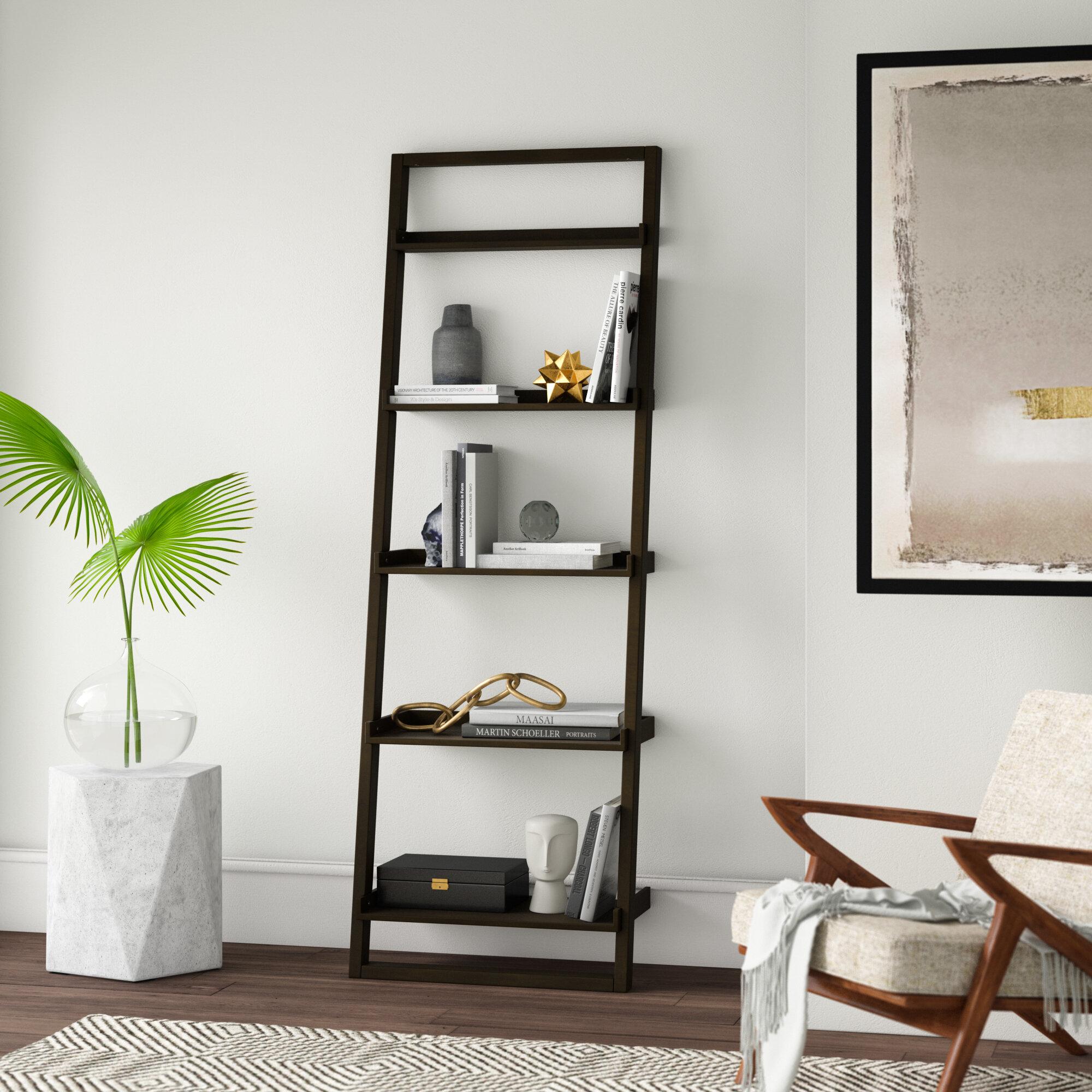 Mercury Row Averett Ladder Bookcase Reviews Wayfair