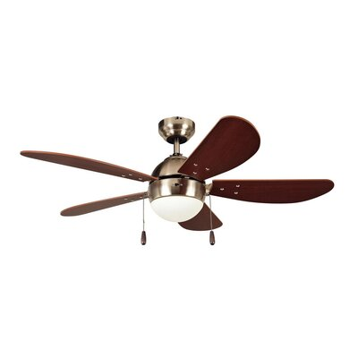 Medium Room Satin Nickel Indoor Ceiling Fans You Ll Love