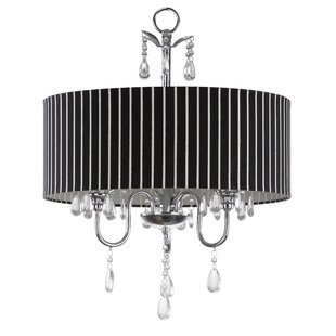 House of Hampton Florissant 3-Light Chandelier