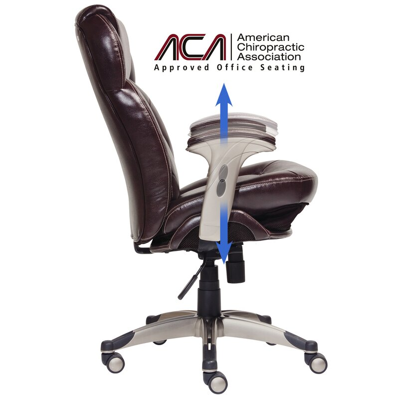 Bon Back In Motion™ Health And Wellness Mid Back Desk Chair