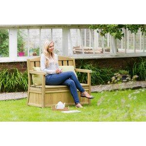 Banktruhe Caroline aus Holz von Home & Haus