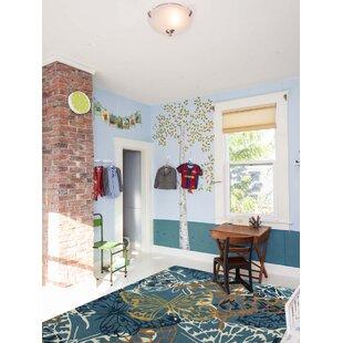 Arrellano Blue Indoor/Outdoor Area Rug