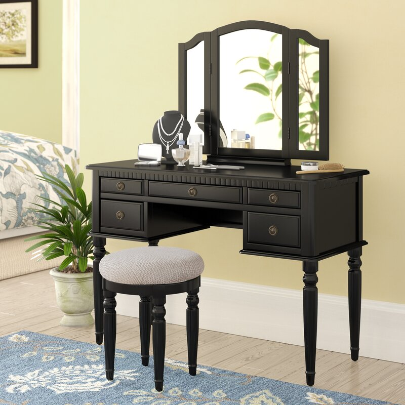 Three Posts Torrance Vanity Set With Mirror Amp Reviews