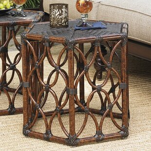 Royal Kahala Wicker Rattan Side Table by Tommy Bahama Outdoor #2