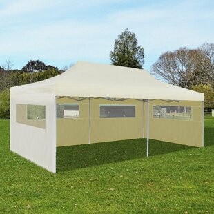 Bolles 6m X 3m Steel Pop-Up Party Tent By Sol 72 Outdoor