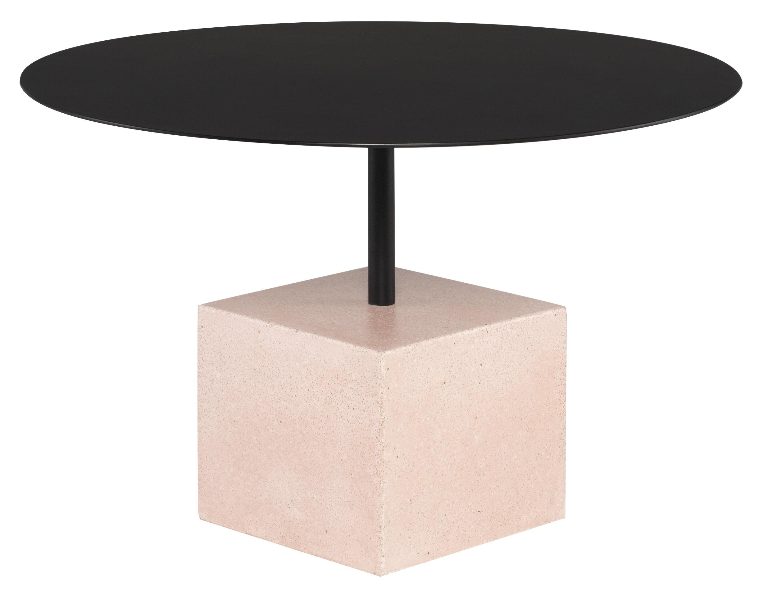 Latitude Run Abdulmohsen Pedestal Coffee Table Wayfair