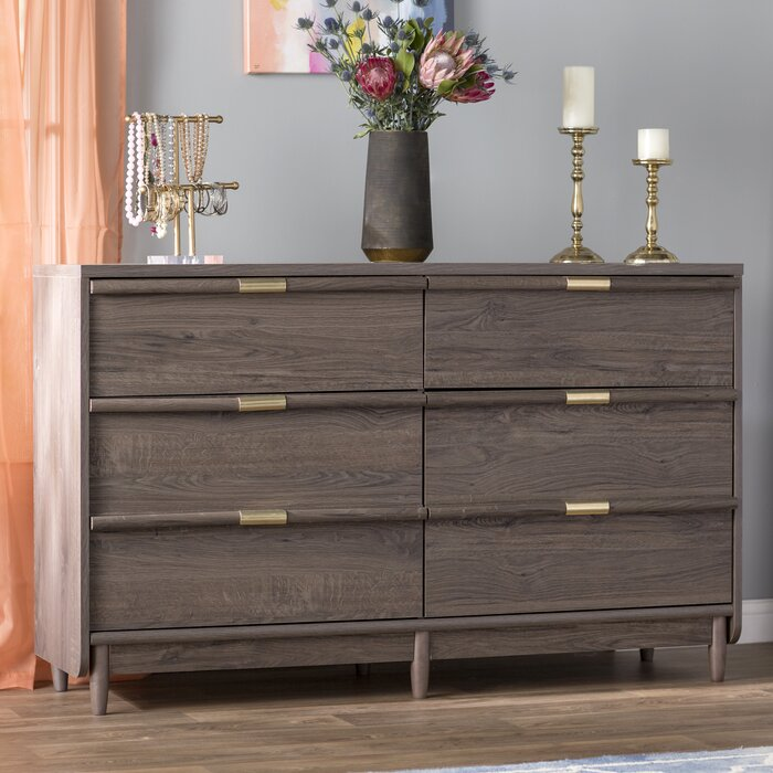 separation shoes 0648c 0e152 Broadridge 6 Drawer Double Dresser