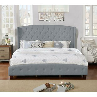 Low priced Vanesa Upholstered Platform Bed by Charlton Home Reviews (2019) & Buyer's Guide