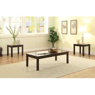Lystra 3 Piece Coffee Table Set by Winston Porter Best