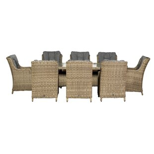 Swindon 8 Seater Dining Set With Cushions By Sol 72 Outdoor