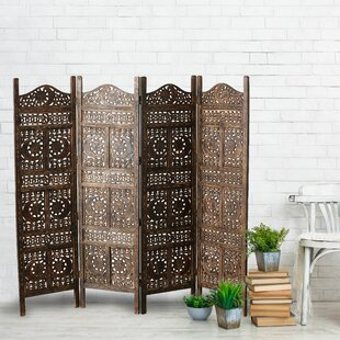 Global Chic 4 Panel Room Divider by Whole House Worlds
