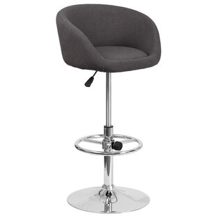 Nordin Adjustable Height Swivel Bar Stool..