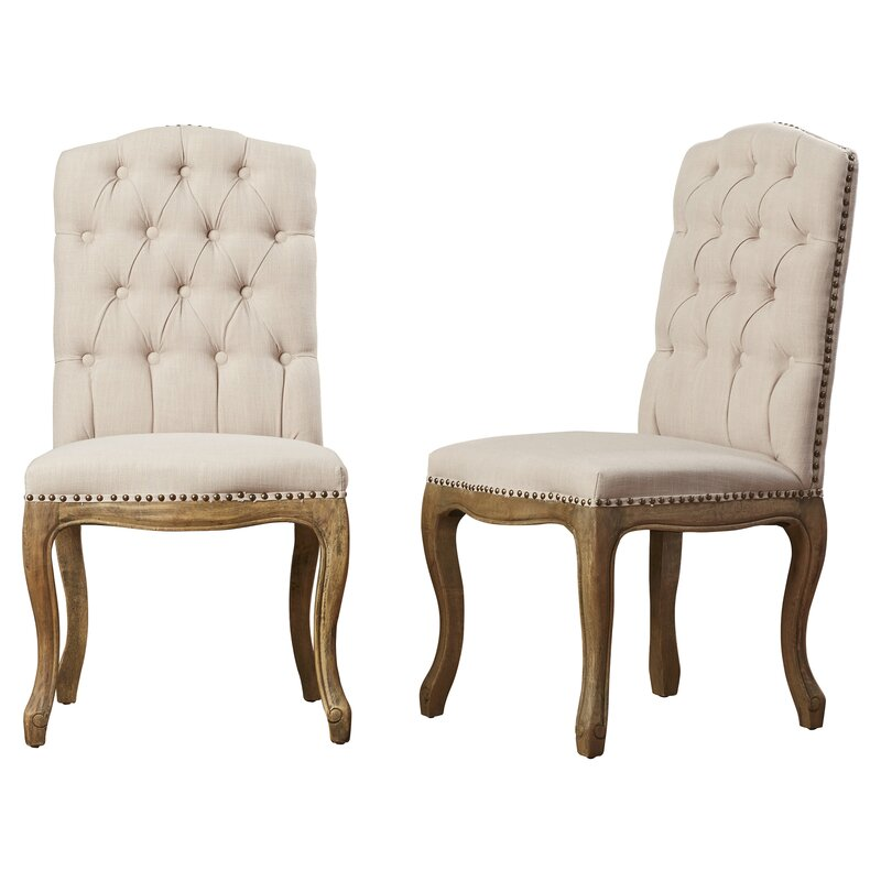 armstead tufted parsons chair set of 2