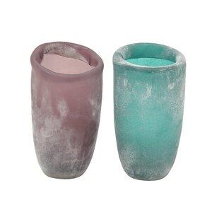 Glass Vase (Set of 2)