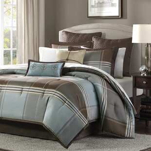 Darby Home Co Frances 8 Piece Reversible Comforter Set