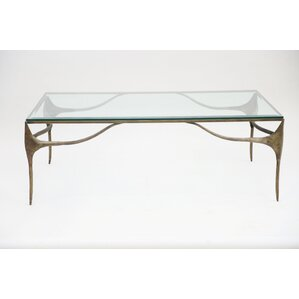 Dulcinea Iron Coffee Table by Bloomsbury Market