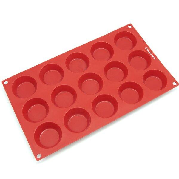 Freshware 15 Cavity Petite Silicone Mold Pan Wayfair