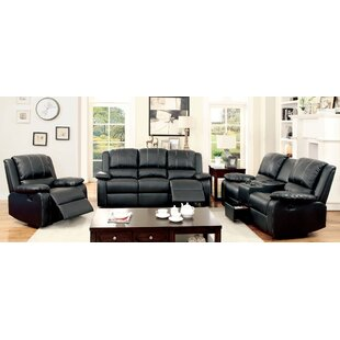 Where buy  Jerriste Reclining Configurable Living Room Set by Hokku Designs Reviews (2019) & Buyer's Guide