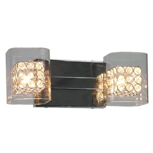 Coupon Cynthia 2-Light Vanity Light By Whitfield Lighting