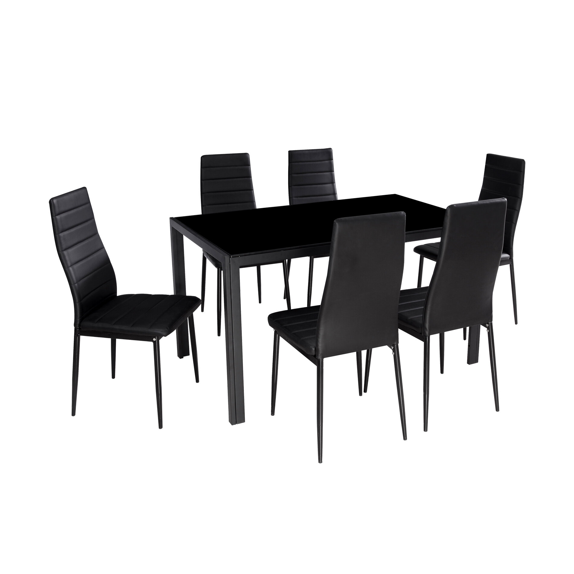 Renick Modern 7 Piece Dining Set Reviews Joss Main