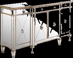 Mirrored Sideboard U0026 Buffet Tables