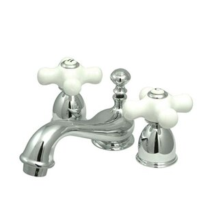 Great choice Restoration Widespread faucet Bathroom Faucet with Drain Assembly By Kingston Brass