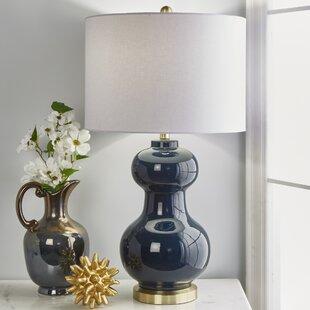 Deasia Double Ball Ceramic 30 Table Lamp