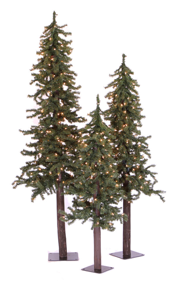 The Holiday Aisle Natural Alpine Green Artificial