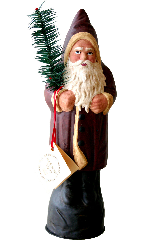 Alexander Taron Schaller Paper Mache Candy Container Santa Old Coat Wayfair