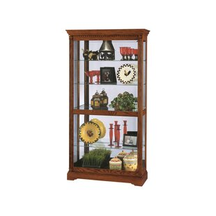 Darby Home Co Brochu Lighted Curio Cabinet